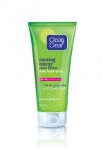 CLEAN & CLEAR® MORNING ENERGY® Shine Control Daily Facial Scrub