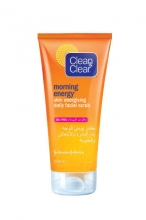 CLEAN & CLEAR® MORNING ENERGY® Skin Energising Daily Facial Scrub