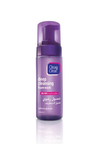 Clean and Clear Foaming Wash