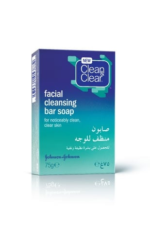 Clean and Clear Facial Cleansing Bar Soap