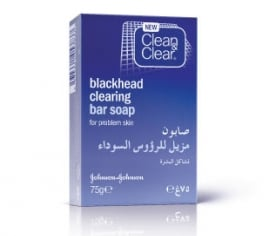 Clean & Clear® Blackhead Clearing Face Soap